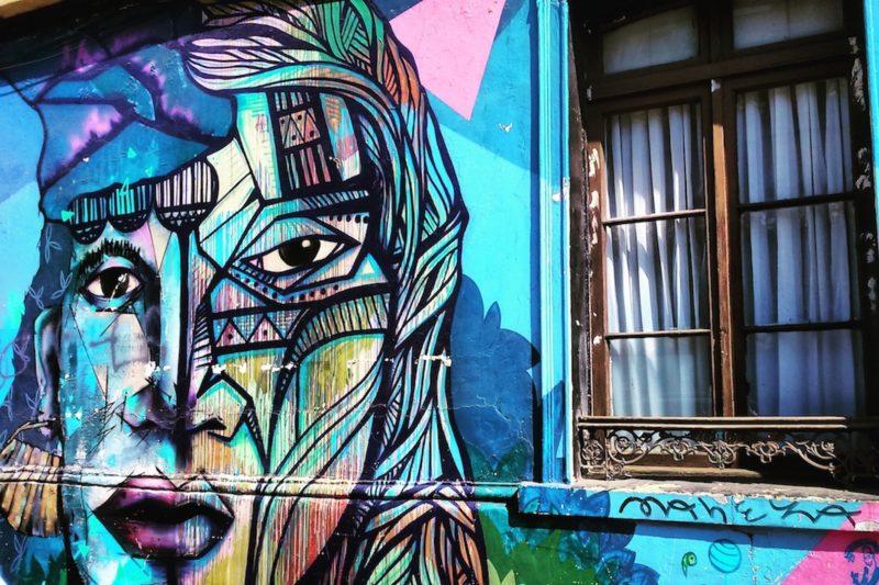 Things to do in Santiago: street art