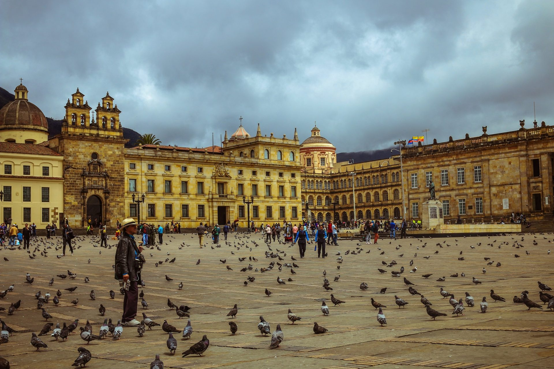 Plaza Bolívar de Bogotá