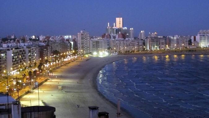 Montevideo Rambla beaches