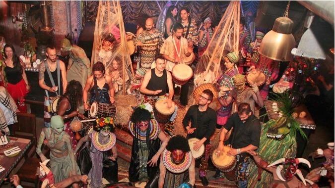 South America Halloween