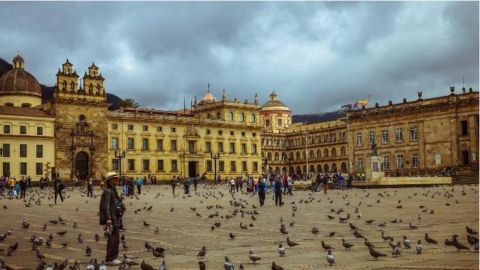 Plaza Bolivar Colombia