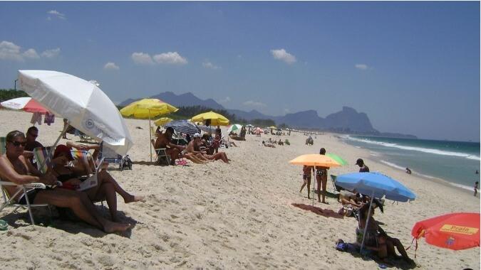 Praia Barra da Tijuca plages