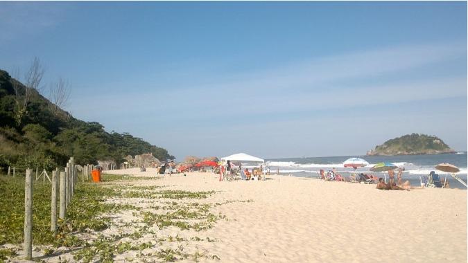 Praia do Grumari plages