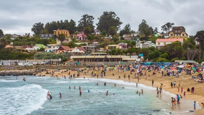 Las Cruces plages