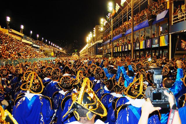 Rio de Janeiro carnival ball