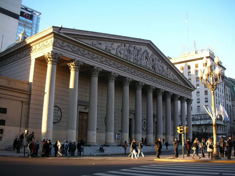The Metropolitan Cathedral of Buenos Aires will host services on Easter Sunday / Source