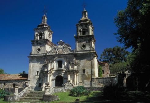 Estancia Santa Catalina, the largest of the five Jesuit Estancias in Cordoba.