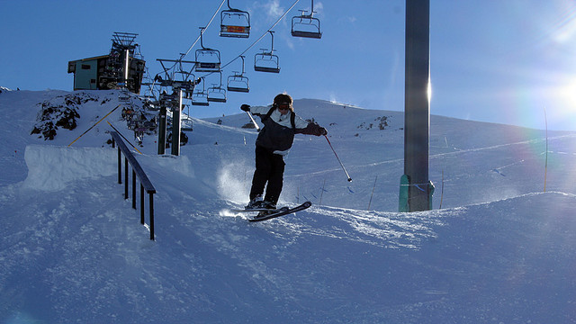 Skiing is one of the most popular tourist activites in Bariloche