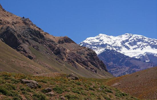 Aconcagua: highest mountain in South America / source