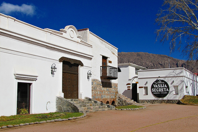 Vasija Secreta is Cafayate's oldest winery