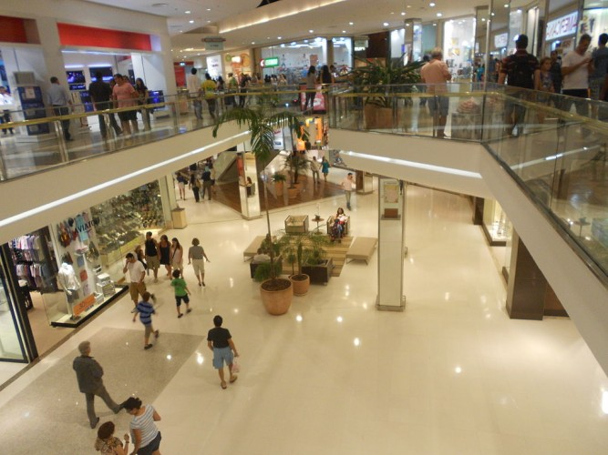 Barra Shopping is Rio's largest shopping centre