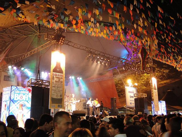 Feira de São Cristóvão: market and party in one