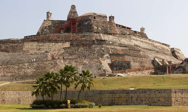 Visit Cartagena's imposing Castillo San Felipe for a glimpse back in time.