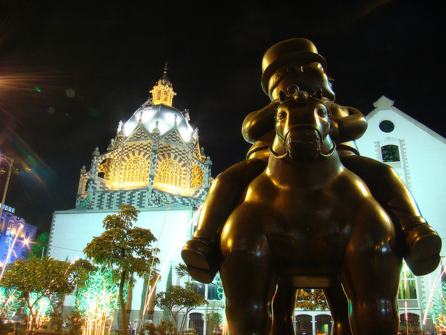 Fernando Botero's iconic statues are a big part of Medellín's identity
