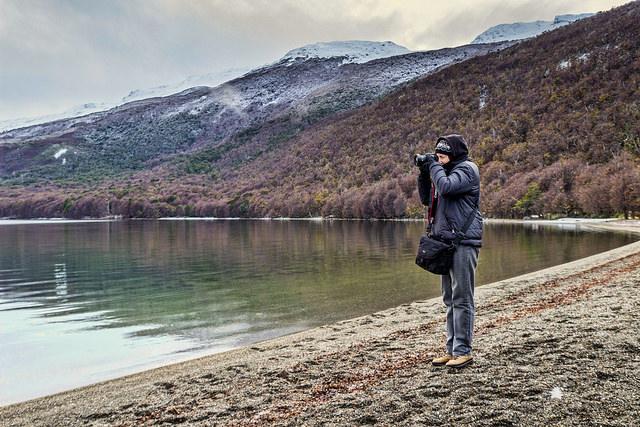 Lago Roca in Tierra del Fuego National Park.