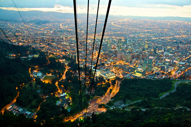 Bogotá at Night | Things you should know about Bogota