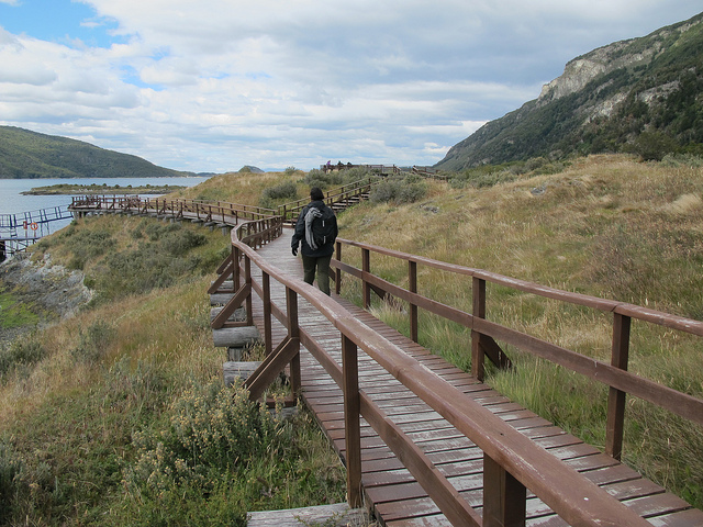 The walkways around Lapataia Bay are better designed for those with mobility difficulties.