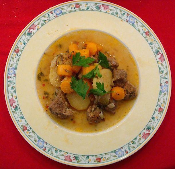 A lamb stew