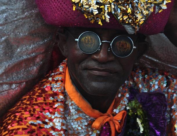 El Congo represents the ancient warriors of Africa