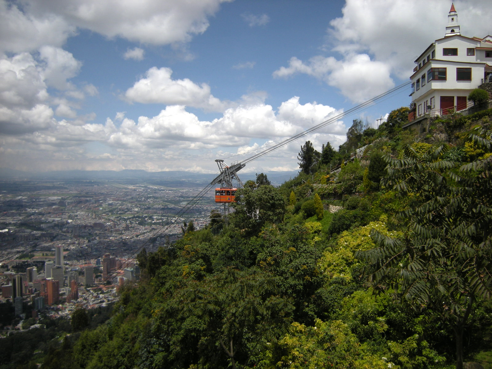 Touris activites in Bogotá