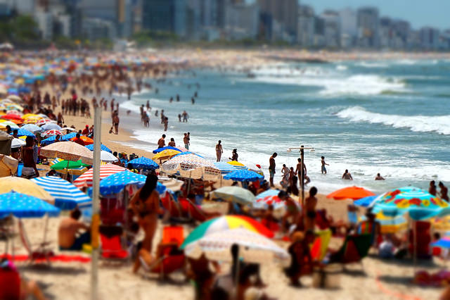 Sunday in Ipanema beach