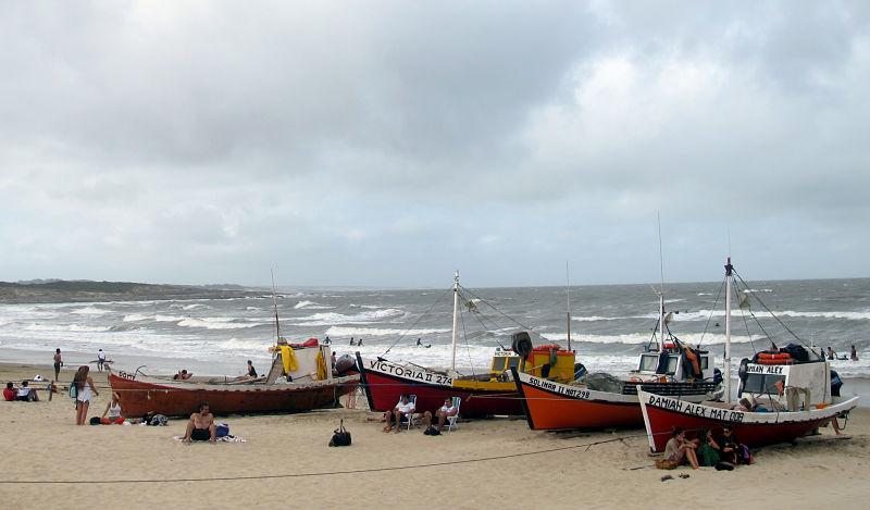 Playas en Uruguay - Punta del Diablo