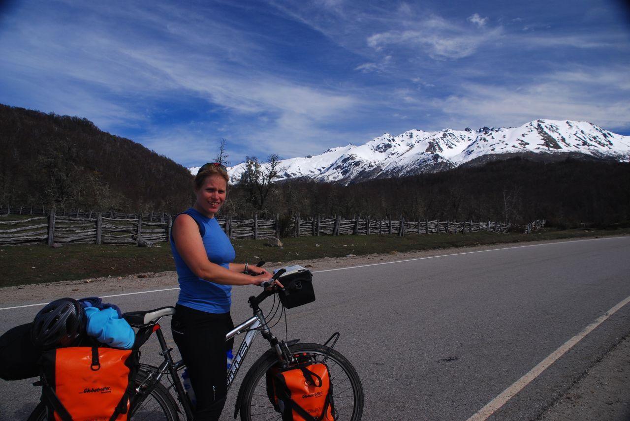 tour de bicicleta en la Patagonia