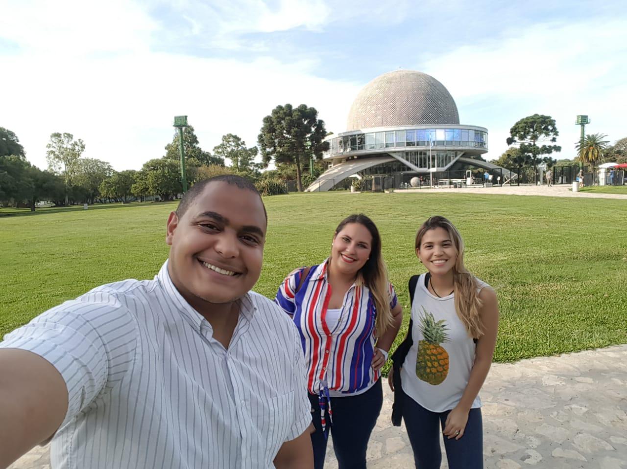 Amigos en el Planetario