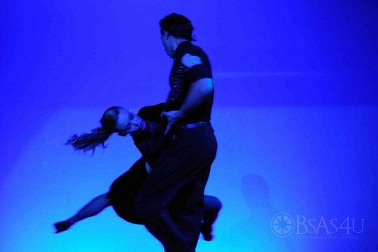 Tango danseurs a Madero Tango