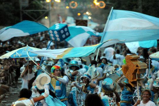 Danseurs et fierte Argentine