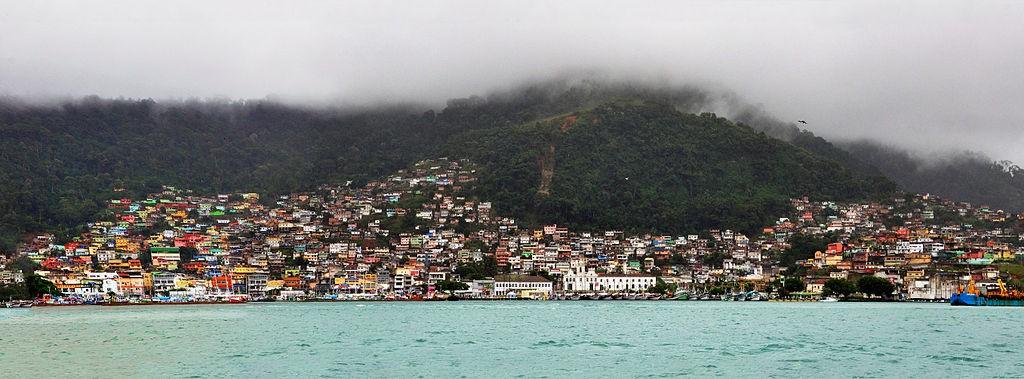 Angra dos Reis-Ilha grande, Vue de la ville