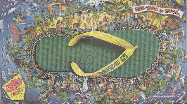 Havainas, les tongs locales de Rio, son soleil,ses plages et son célèbre yerba mate ! vous ne pourrez pas résister !