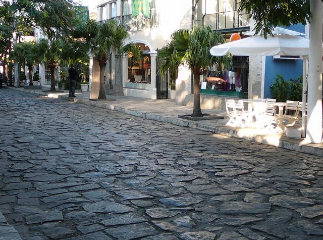 Buzios-Ruas das pedras - Centre de la ville, la ou les partent les bateaux