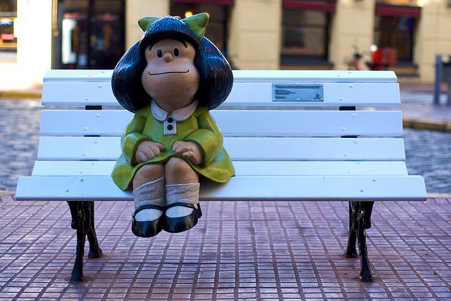 souvenirs d'argentine - mafalda - san telmo - quino