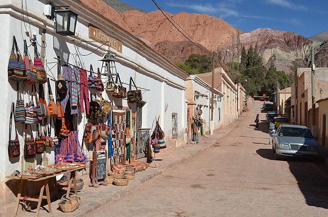 souvenirs d'argentine - artisanat - tissu andin - quebrada de humahuaca