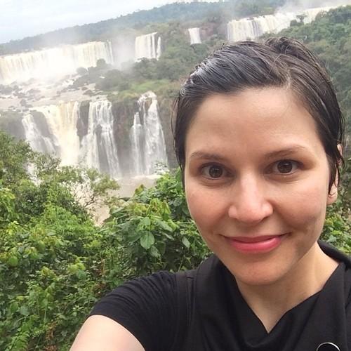 Selfie aux Chutes d'Iguazu / source