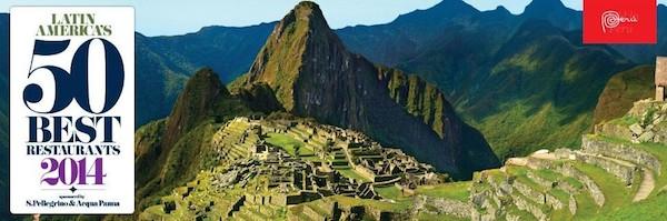 Latin America's 50 best Restaurants 2014 / source