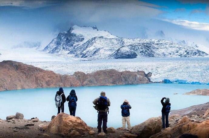 Réservez un Tour à l'Estancia Crisitina pour des paysages glacés à couper le souffle / source